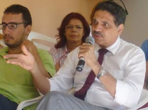 O deputado federal João Paulo participou do encontro e se colocou à  disposição para auxiliar na tramitação do novo marco regulatório