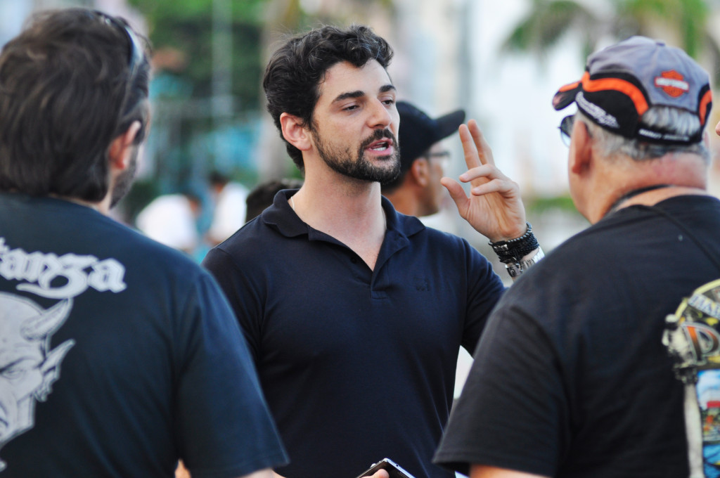 Coordenador do Recife Moto Wek, Diego Montenegro - Foto- Anderson Stevens