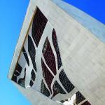 Vitral do Panteão da Pátria. em Brasília. Foto Breno Laprovítera e Jarbas Jr