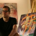 Artista plástico Sérgio Pires. Foto Vinicius Lubambo - Lower Res