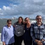 Roberto Beltrão, Juliana Britto, Claudia Heráclio e André Balaio. Foto Alonso Laporte-Verbo