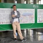 Exposição - Recife Através dos Tempos, do artista plástico Terciano Torre