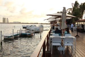 Catamaran Lounge Bar. Foto Isabela Araújo
