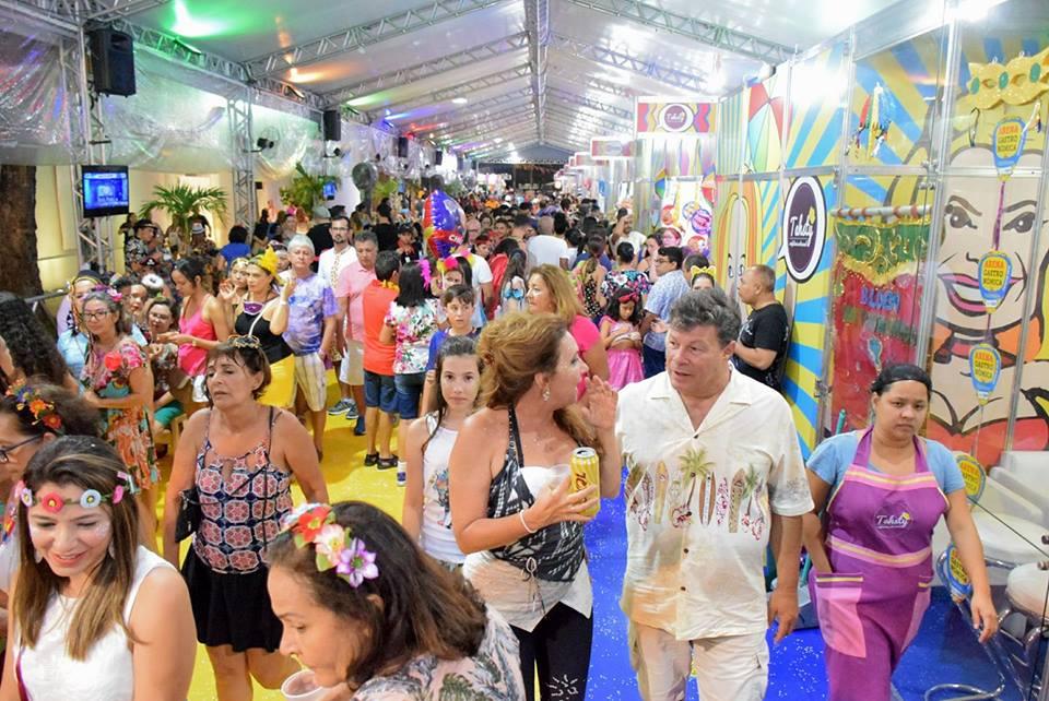 Arena Gastronômica do Carnaval 2018. Foto Verbo Assessoria