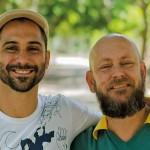 Luiz Rufino e Luiz Antonio Simas. Crédito Walter Alves